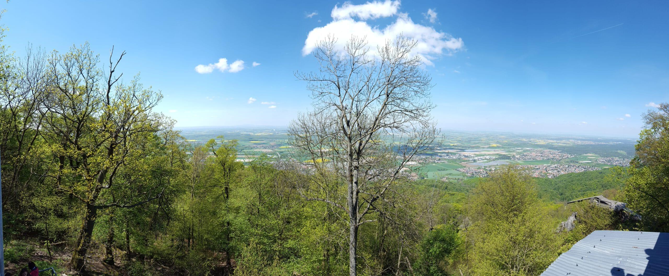 Ausblick vom Melibokus