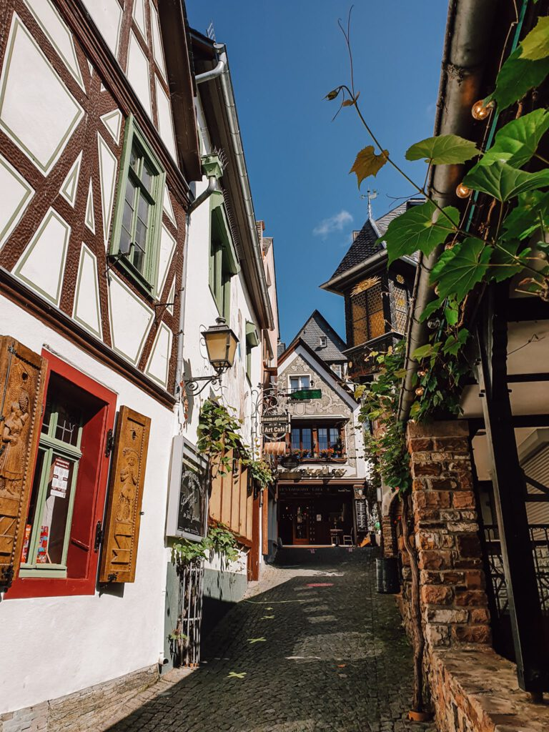 Rüdesheim Drosselgasse ferienfrei