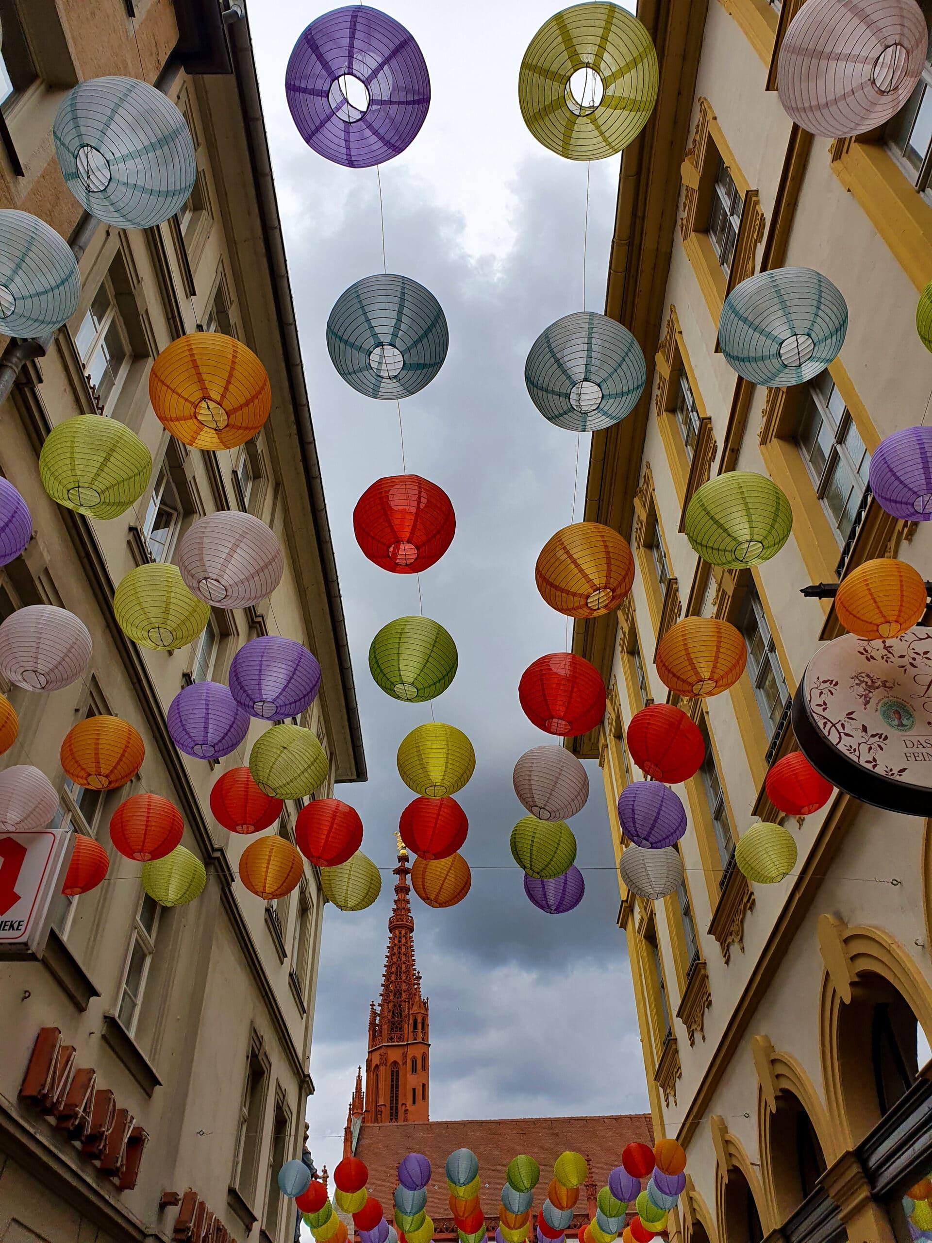 Würzburg Tipps Lampions