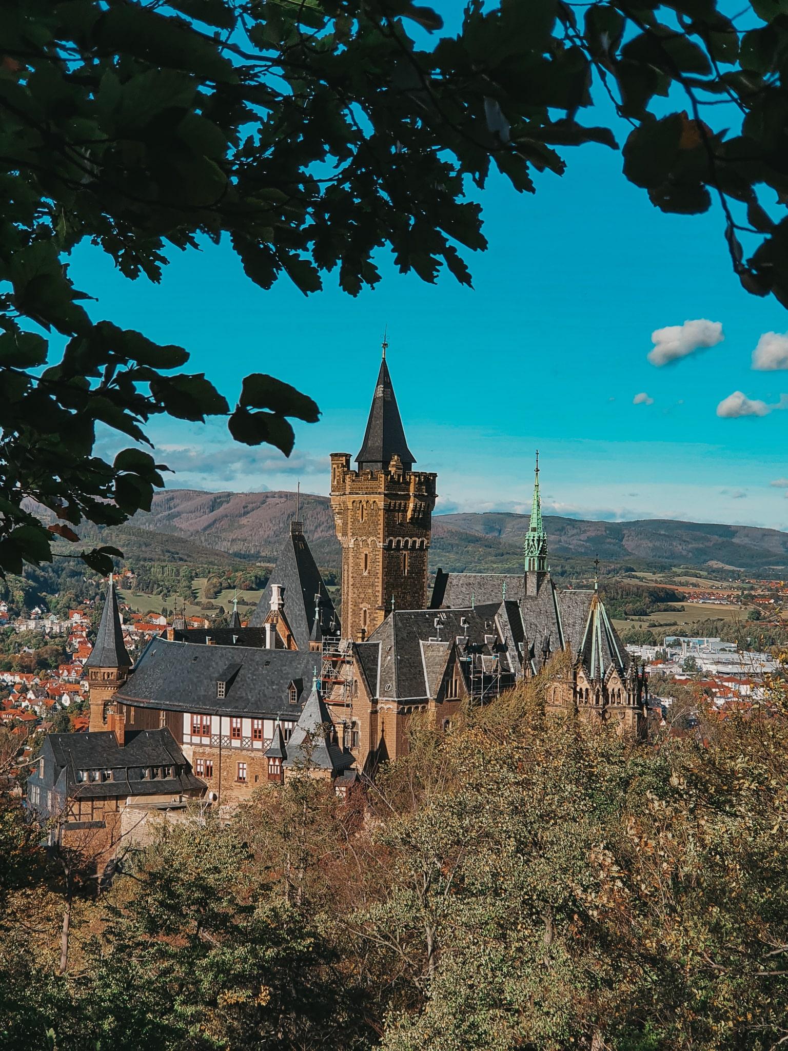 ferienfrei Harz Schloss Wernigerode