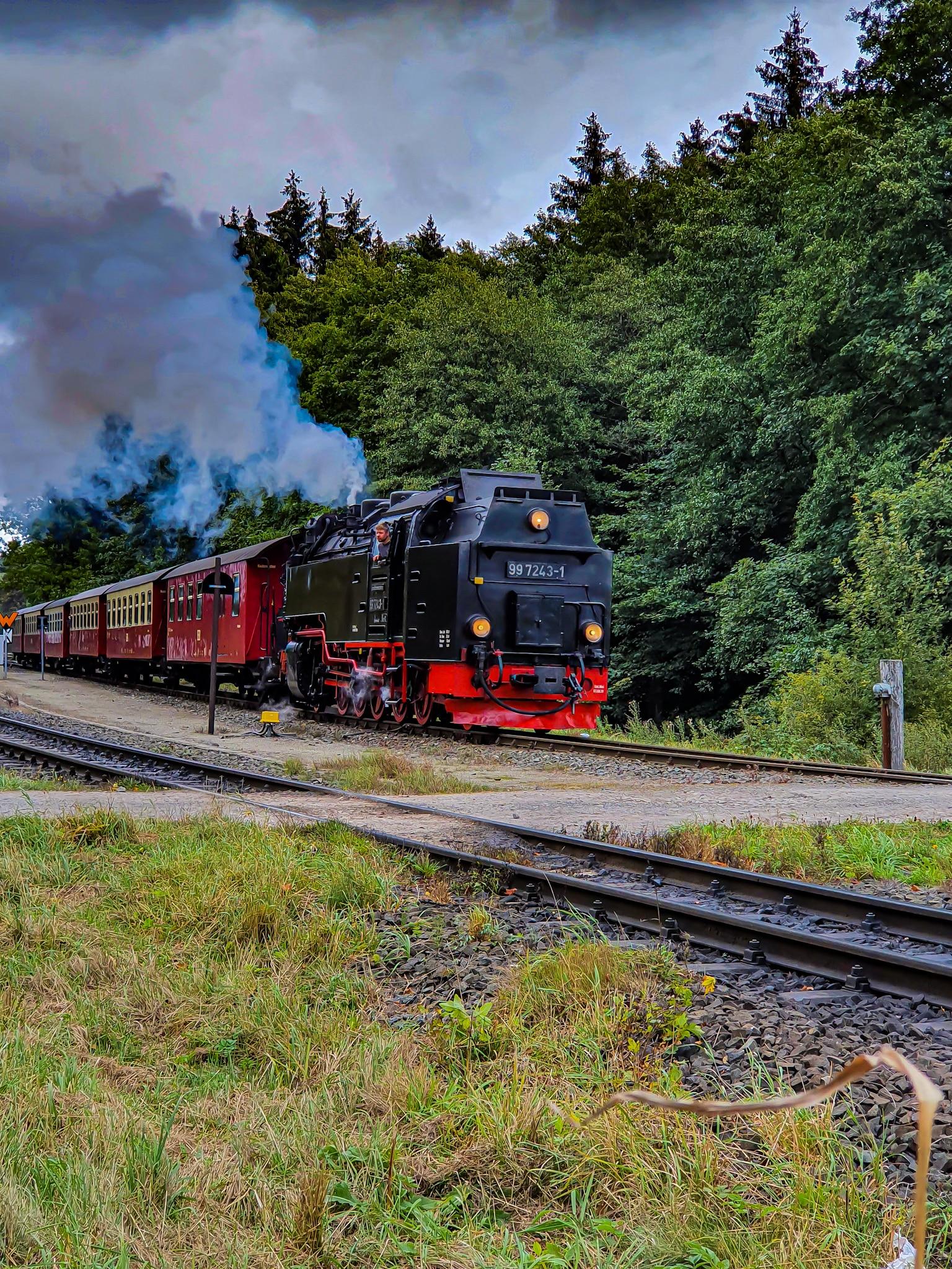 Ausflugsziel Harz Brockenbahn