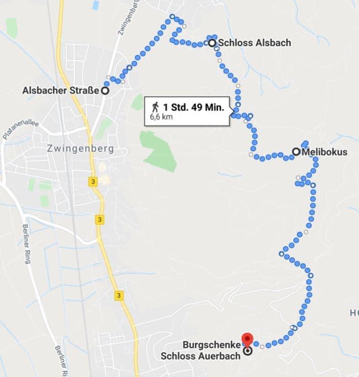Map Auerbach