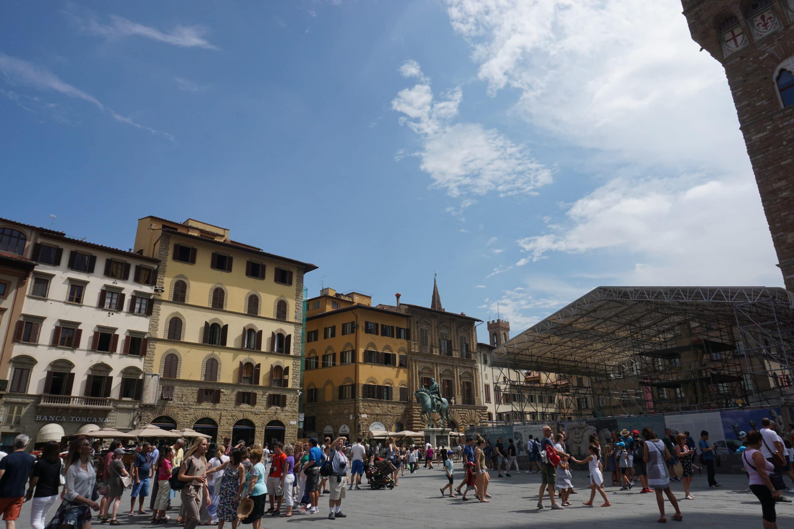 Tipps für einen Tag in Florenz Piazza Signoria