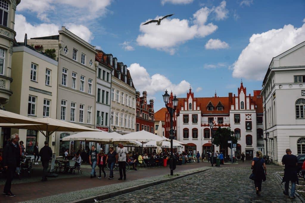 Sehenswürdigkeiten Wismar ferienfrei Marktplatz