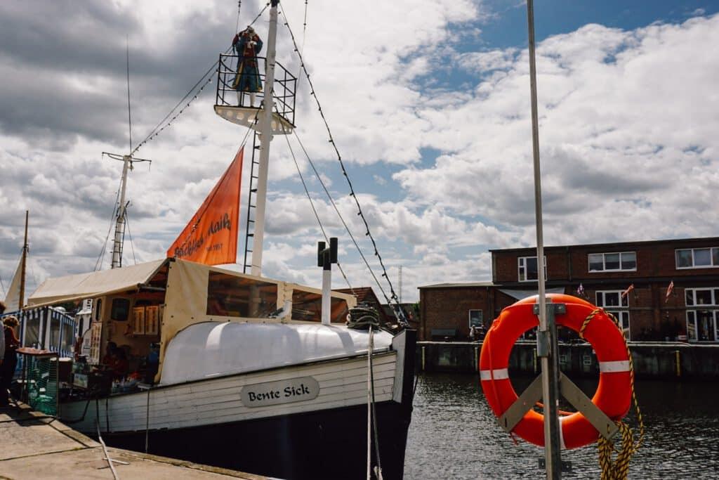 Sehenswürdigkeiten Wismar ferienfrei St. der alte Hafen