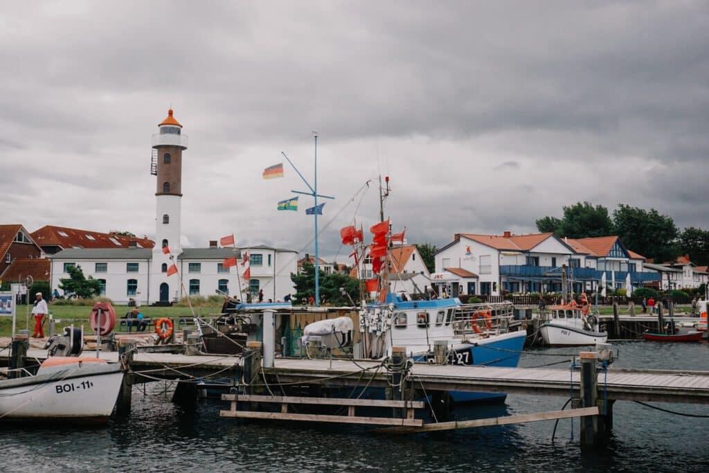 Sehenswürdigkeiten Wismar ferienfrei Hafen Timmendorf