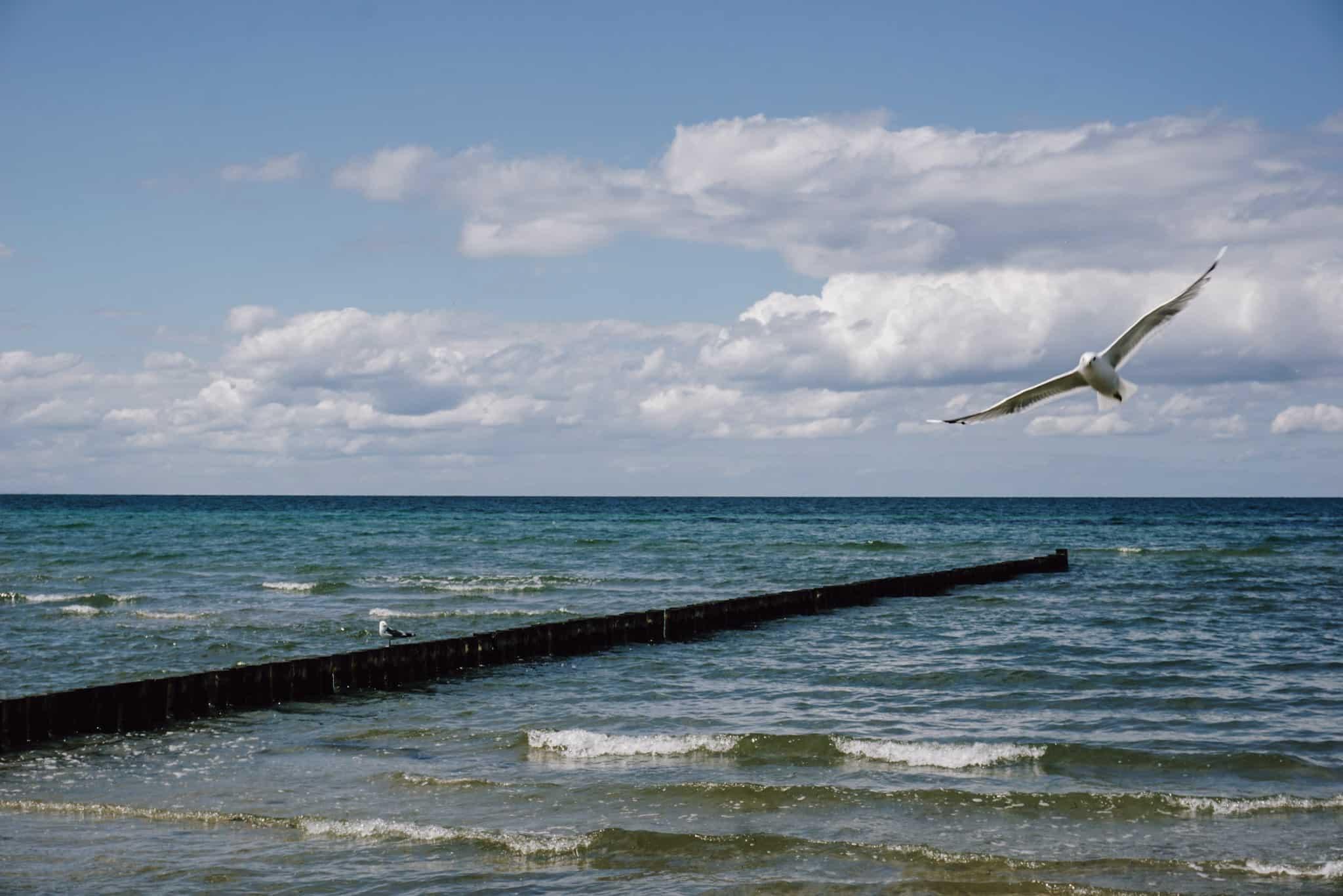 Strandurlaub auf der Insel Poel in der Ostsee