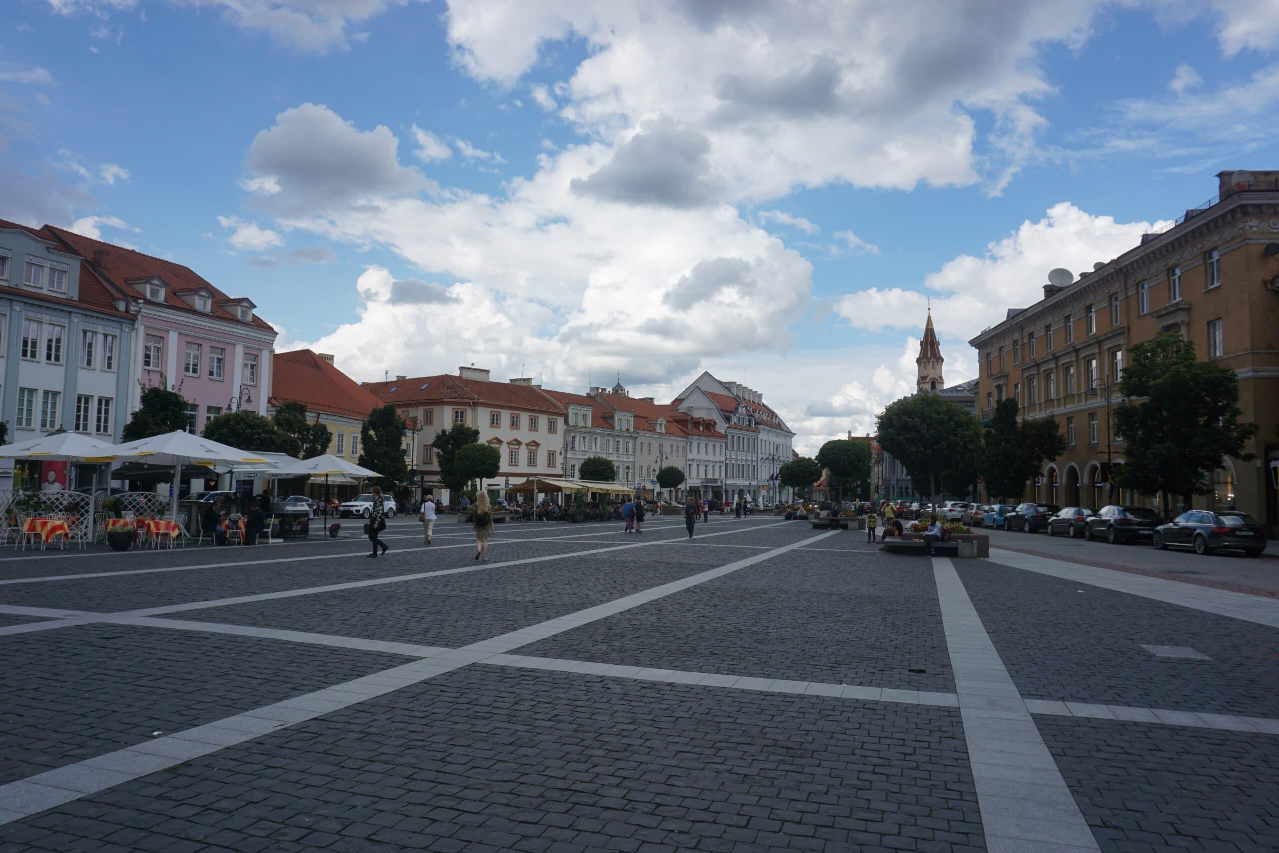 Rathausplatz Vilnius