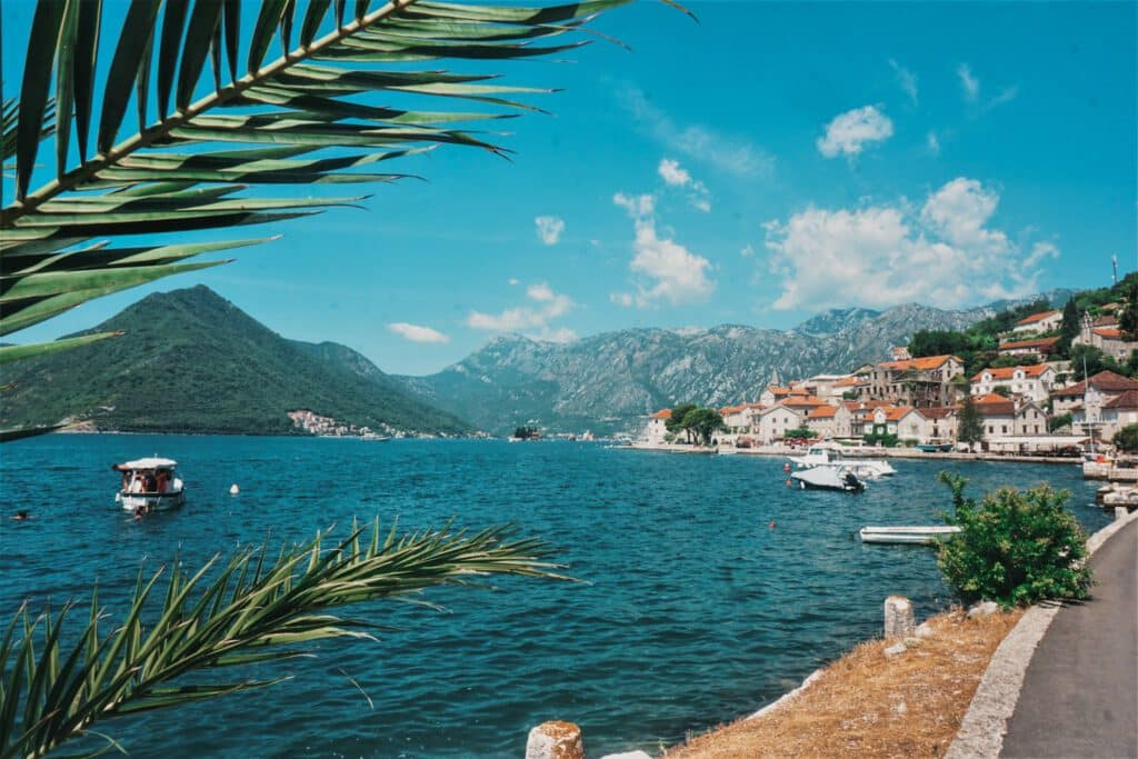 Perast Montenegro roadtrip ferienfrei