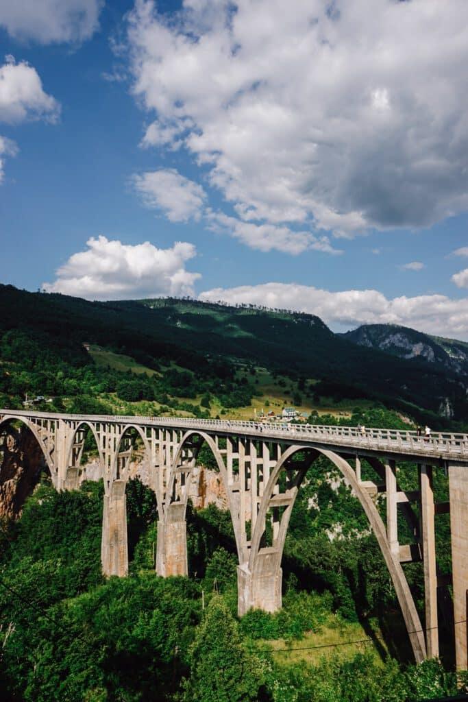 Montenegro Tara Brücke ferienfrei