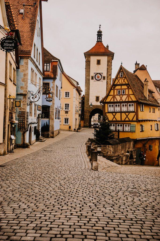 ferienfrei Rothenburg ob der Tauber Sehenswürdigkeiten Plönlein