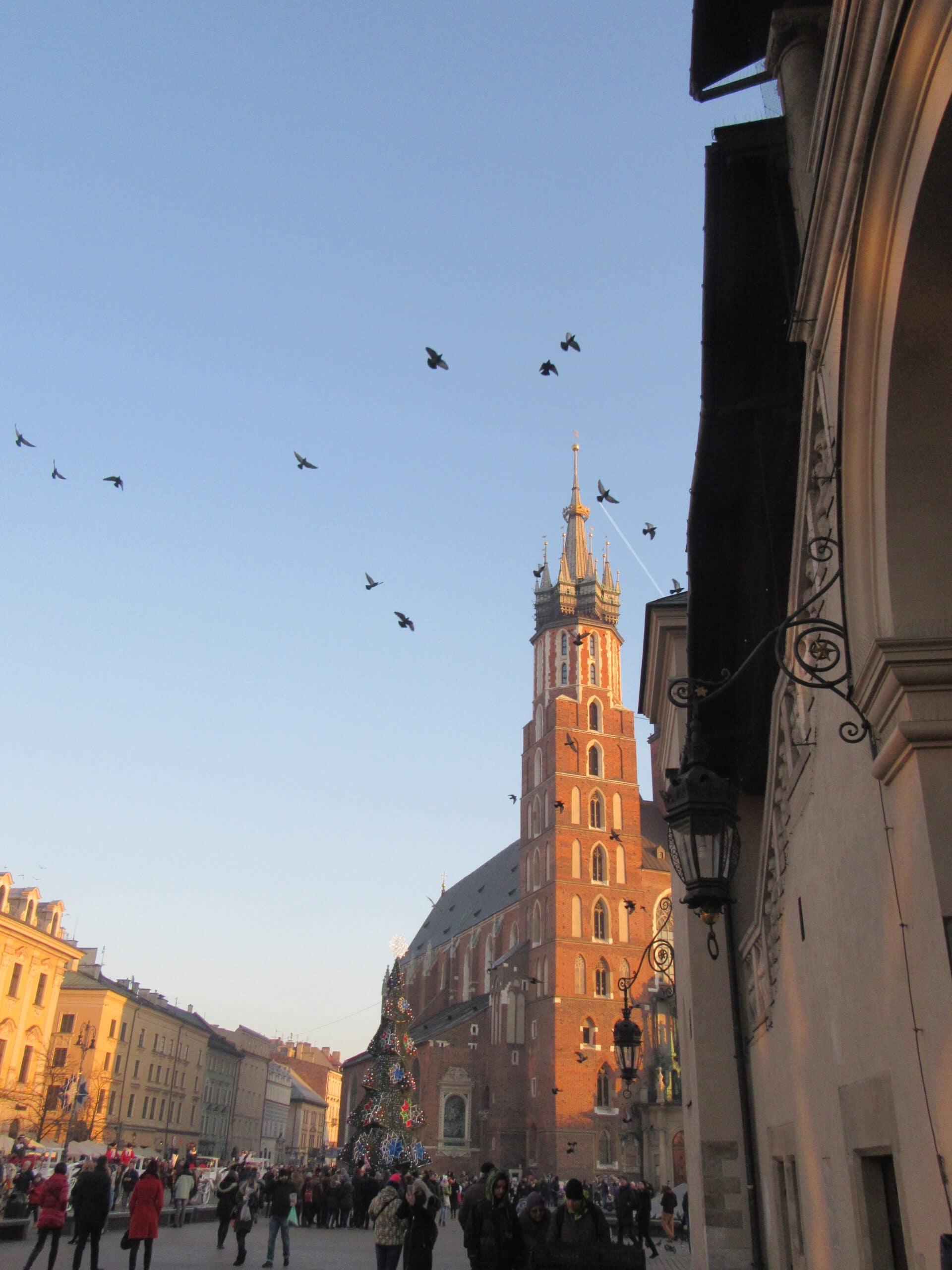 Rynek, der schönste Platz Krakaus