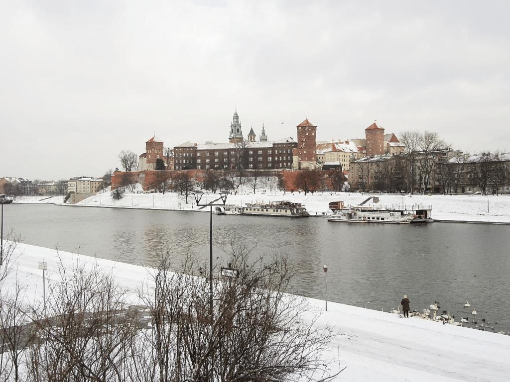 Wawelburg in Krakau